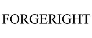 mark for FORGERIGHT, trademark #87037744