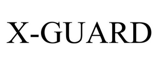 mark for X-GUARD, trademark #87039794