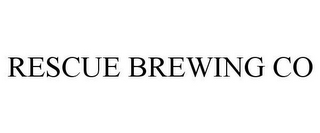 mark for RESCUE BREWING COMPANY, trademark #87042155