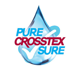 mark for PURE CROSSTEX SURE, trademark #87047763