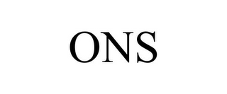 mark for ONS, trademark #87050199