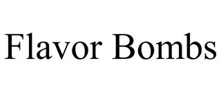 mark for FLAVOR BOMBS, trademark #87050923