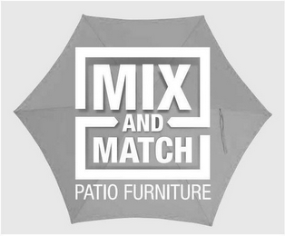 mark for MIX AND MATCH PATIO FURNITURE, trademark #87058330