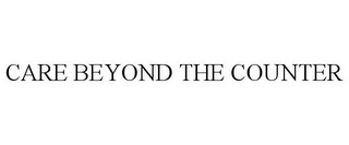 mark for CARE BEYOND THE COUNTER, trademark #87060754