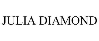 mark for JULIA DIAMOND, trademark #87063737
