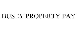 mark for BUSEY PROPERTY PAY, trademark #87064570
