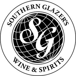 mark for SG SOUTHERN GLAZER'S WINE & SPIRITS, trademark #87068469