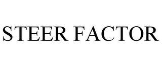 mark for STEER FACTOR, trademark #87075371