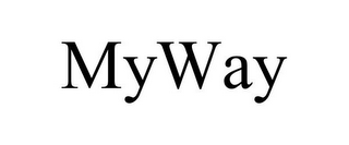 mark for MYWAY, trademark #87083250