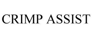 mark for CRIMP ASSIST, trademark #87087493
