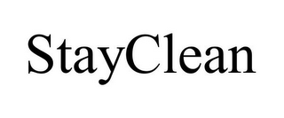 mark for STAYCLEAN, trademark #87105130