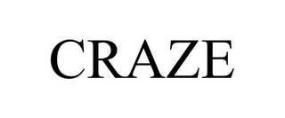mark for CRAZE, trademark #87124303
