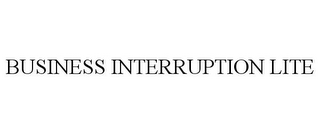 mark for BUSINESS INTERRUPTION LITE, trademark #87124877