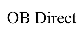 mark for OB DIRECT, trademark #87132838