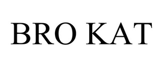 mark for BRO KAT, trademark #87133879