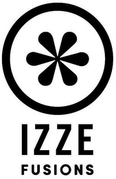 mark for IZZE FUSIONS, trademark #87153829