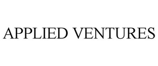 mark for APPLIED VENTURES, trademark #87157121