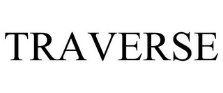 mark for TRAVERSE, trademark #87164972