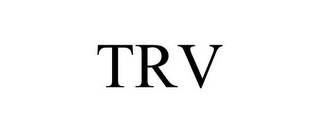mark for TRV, trademark #87169654