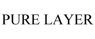 mark for PURE LAYER, trademark #87177914