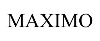 mark for MAXIMO, trademark #87180256