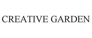 mark for CREATIVE GARDEN, trademark #87183887