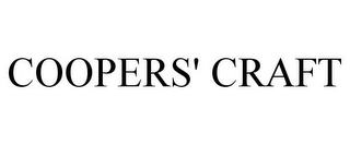 mark for COOPERS' CRAFT, trademark #87184670