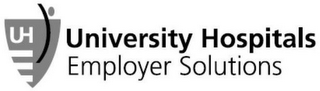 mark for UH UNIVERSITY HOSPITALS EMPLOYER SOLUTIONS, trademark #87193891