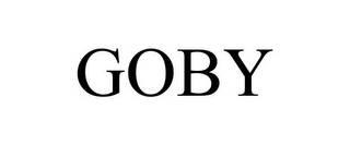 mark for GOBY, trademark #87198218