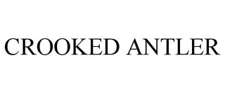 mark for CROOKED ANTLER, trademark #87198343