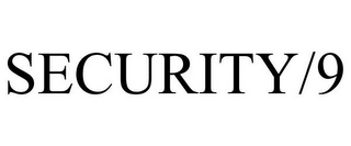 mark for SECURITY/9, trademark #87210785