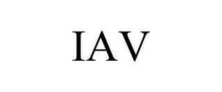mark for IAV, trademark #87212043