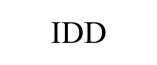 mark for IDD, trademark #87212047