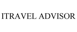 mark for ITRAVEL ADVISOR, trademark #87224948