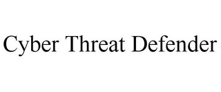 mark for CYBER THREAT DEFENDER, trademark #87226511