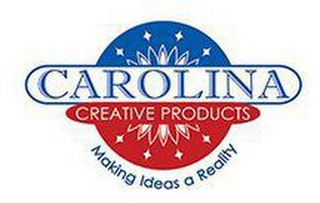 mark for CAROLINA CREATIVE PRODUCTS MAKING IDEASA REALITY, trademark #87227792