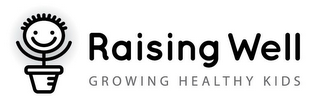 mark for RAISING WELL GROWING HEALTHY KIDS, trademark #87231133