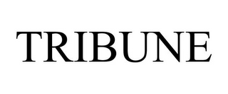 mark for TRIBUNE, trademark #87235920