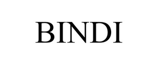mark for BINDI, trademark #87239036