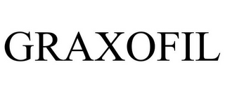 mark for GRAXOFIL, trademark #87240794