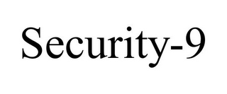 mark for SECURITY-9, trademark #87243458