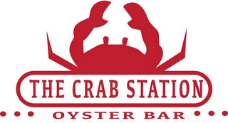 mark for THE CRAB STATION OYSTER BAR, trademark #87243952