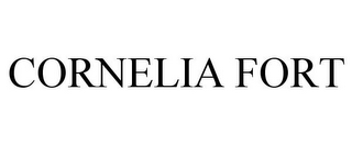 mark for CORNELIA FORT, trademark #87255981