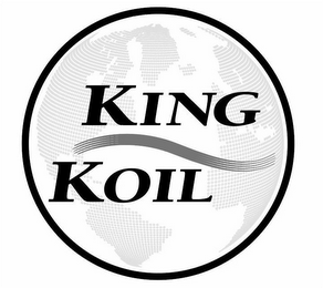 mark for KING KOIL, trademark #87266549