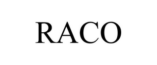 mark for RACO, trademark #87295024