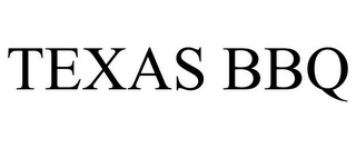 mark for TEXAS BBQ, trademark #87296690