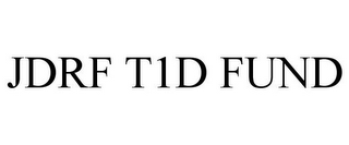 mark for JDRF T1D FUND, trademark #87299337
