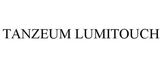 mark for TANZEUM LUMITOUCH, trademark #87308582