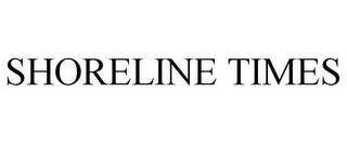 mark for SHORELINE TIMES, trademark #87321140