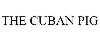 mark for THE CUBAN PIG, trademark #87335382